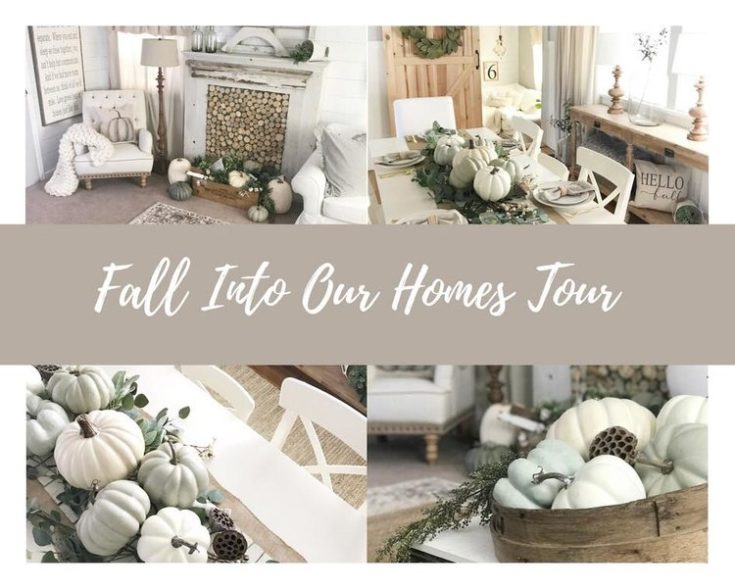 Fall Into Our Homes - Fall Blog Hop 2017