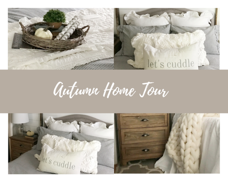 Autumn Home Tour - My Fall Bedroom