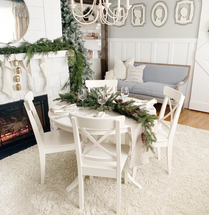 Simple Christmas Decor with Overstock