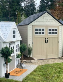 Small Space Living : Rubbermaid® Outdoor Storage Shed