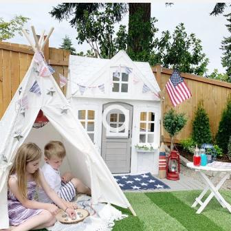 Time to Camp { Camp Ann - JOANN } Backyard style