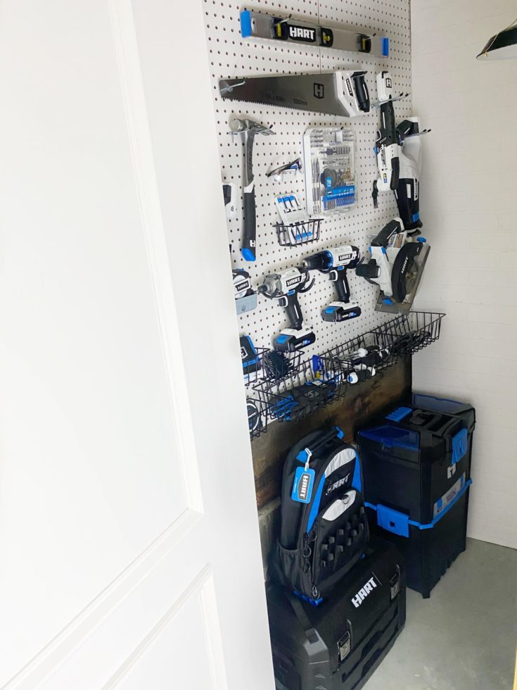 Small Space Living : Tool Storage Ideas without a Garage