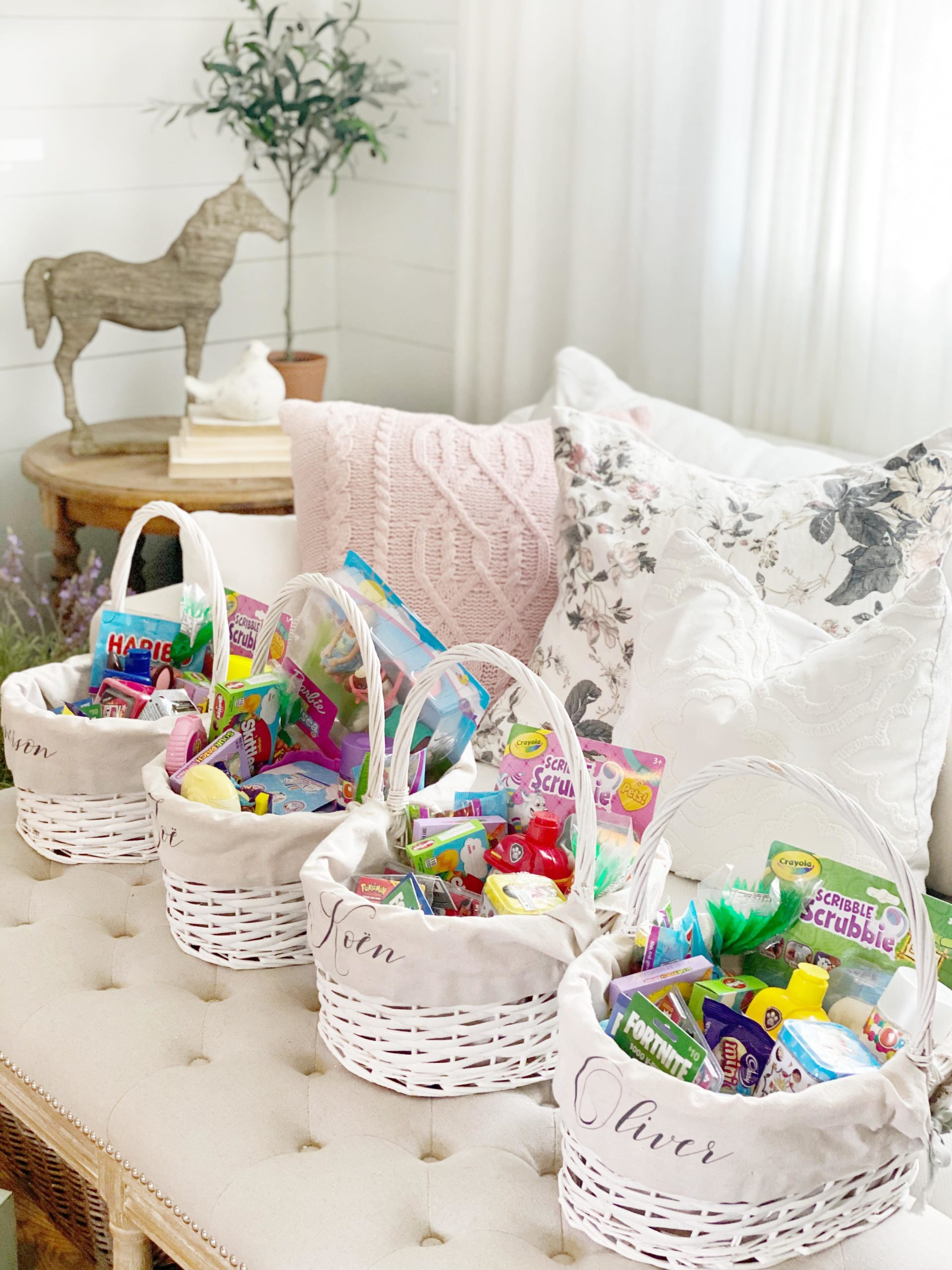 Easter Basket Ideas Without Leaving Your Home Dreaming Of Homemaking