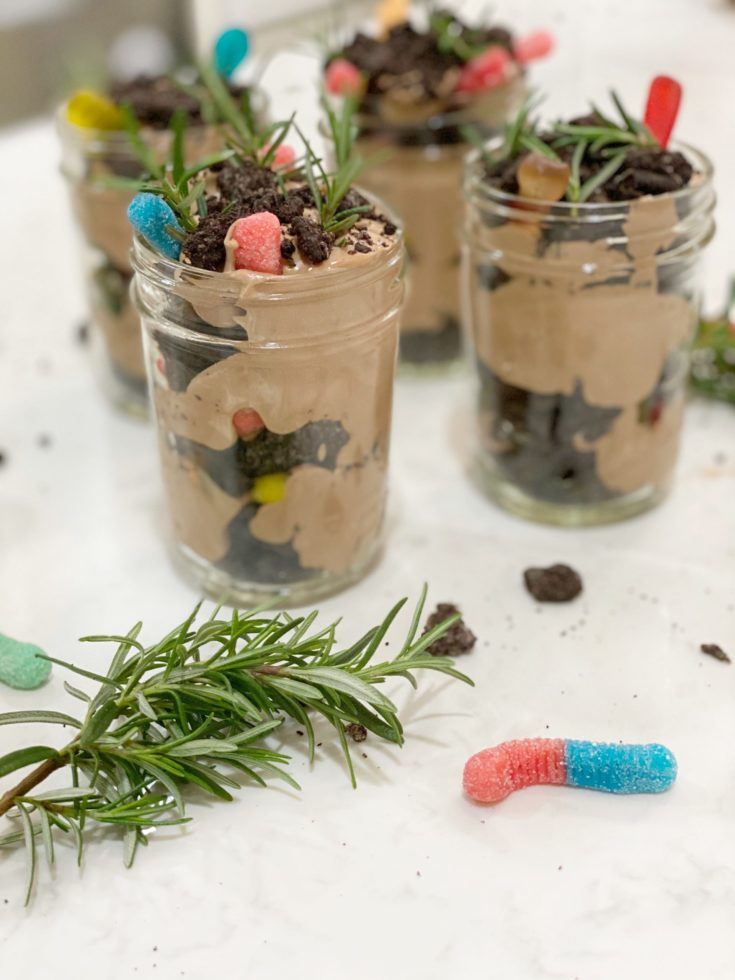 Oreo Dirt Pudding Cups - Recipe