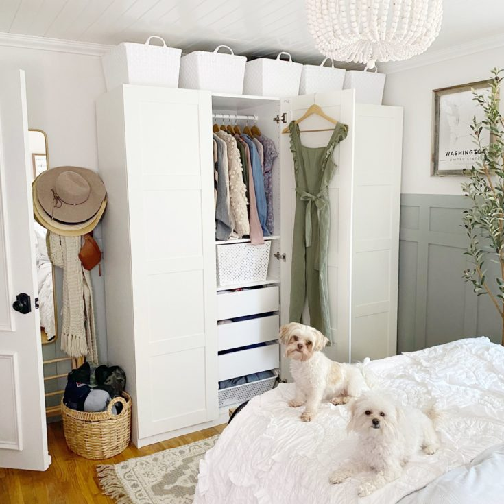 Why we got rid of our closet and went with an Ikea PAX Wardrobe System