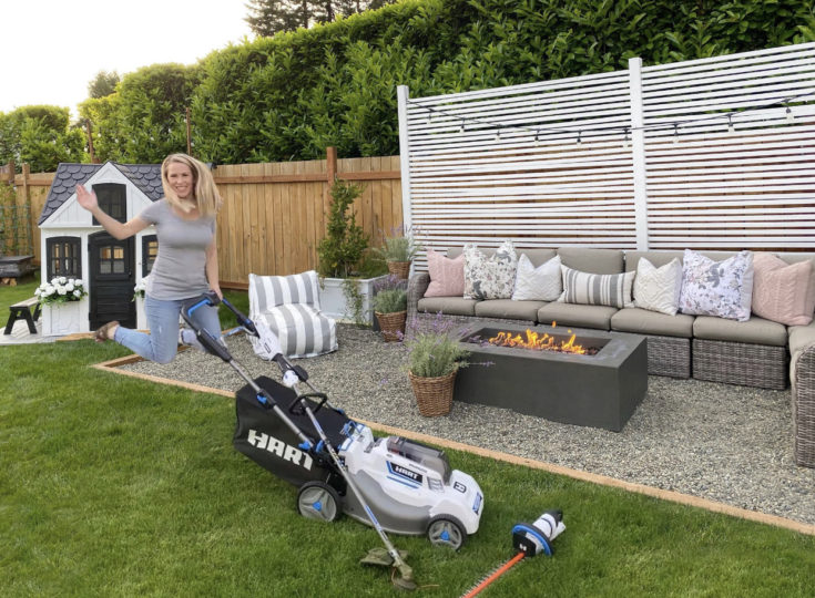 Lawn Care with Hart Tools