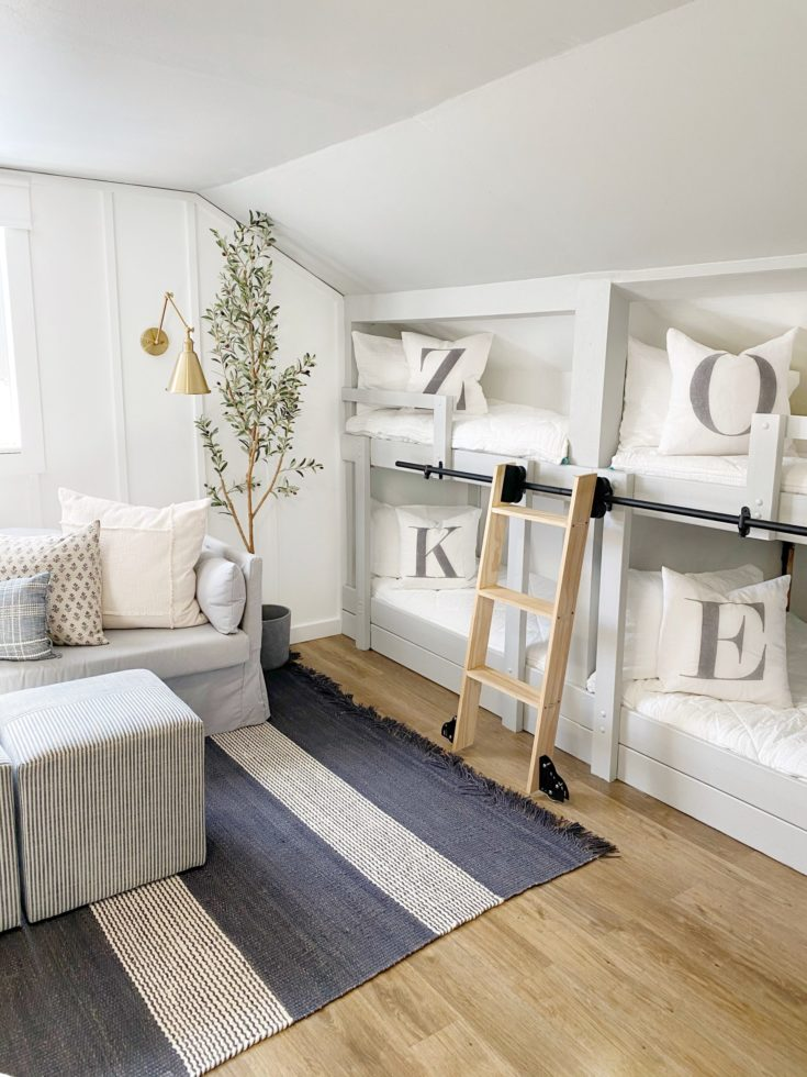 Boys Shared Bunk Bed Room