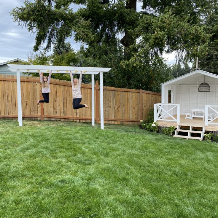 DIY : How to Build Monkey Bars
