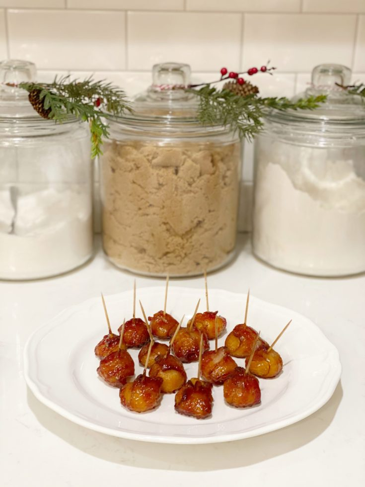 Bacon Covered Water Chestnuts